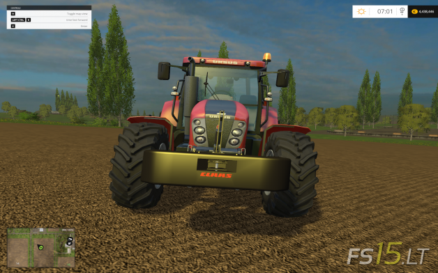 Claas-Xerion-Weight