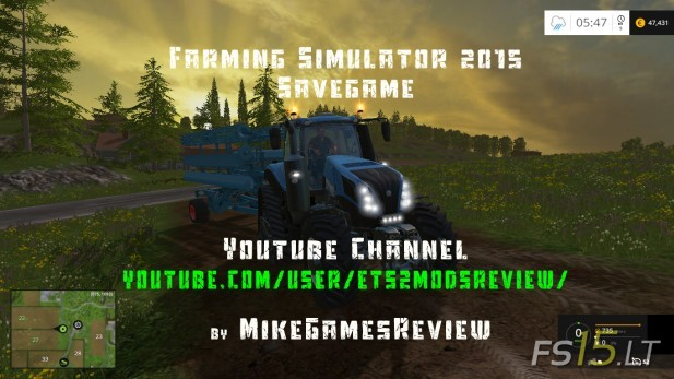 Farming-Simulator-2015-Savegame