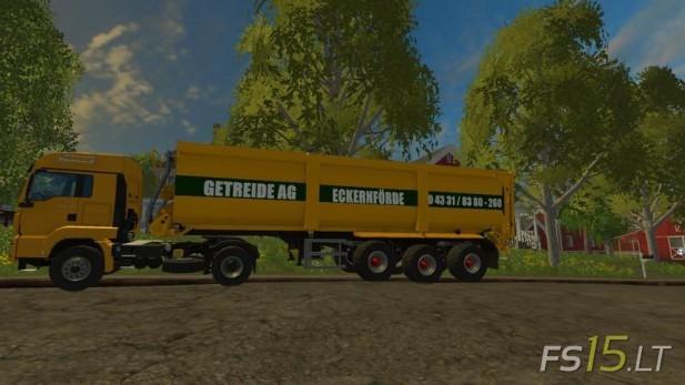 Getreide-AG-Trailer