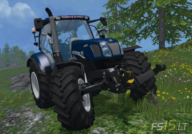 New-Holland-T-6.160-Blue-Power-v-1.1