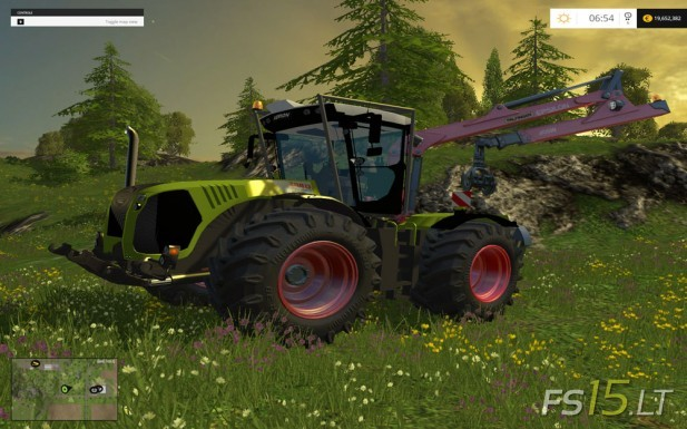 Claas-Xerion-5000-Forest-Edition-1