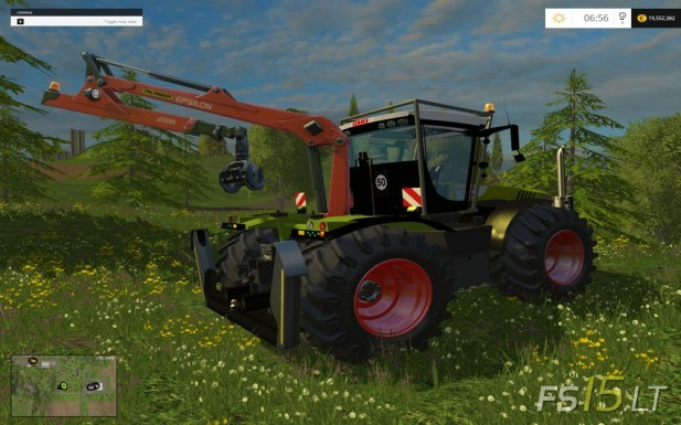Claas-Xerion-5000-Forest-Edition-2
