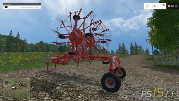 Kuhn-GA-852-Windrower-v-1.0