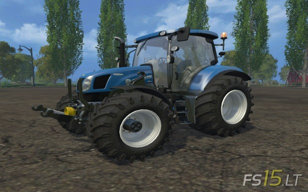 New Holland T X
