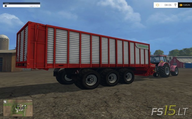 Dump Truck Contracts Silage Trailer | FS15.LT - Farming Simulator 2015 (FS 15) mods - Part ...