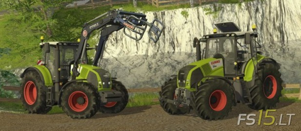 Claas-Axion-Pack