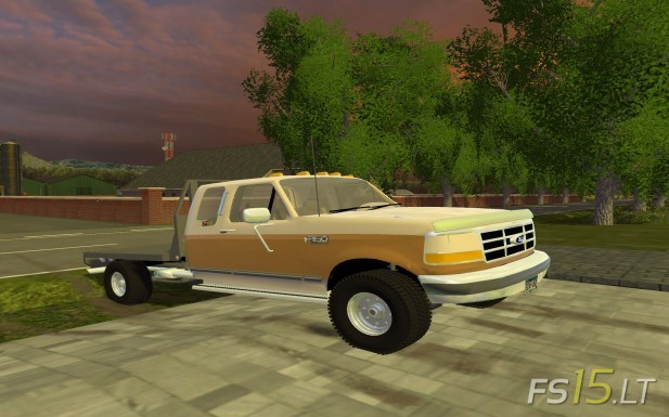 Ford-F-250-Flatbed-1