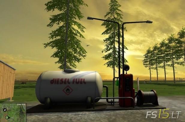 Fuel-Station-with-Lights-v-1.0