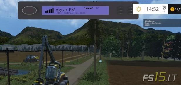 Radio Mod   FS15 mods - FS15 LT