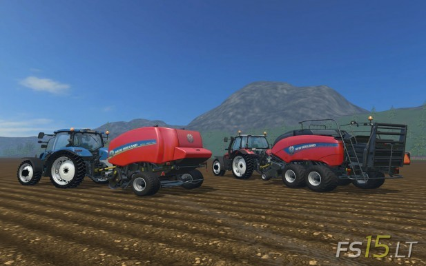 American-New-Holland-Balers-Pack