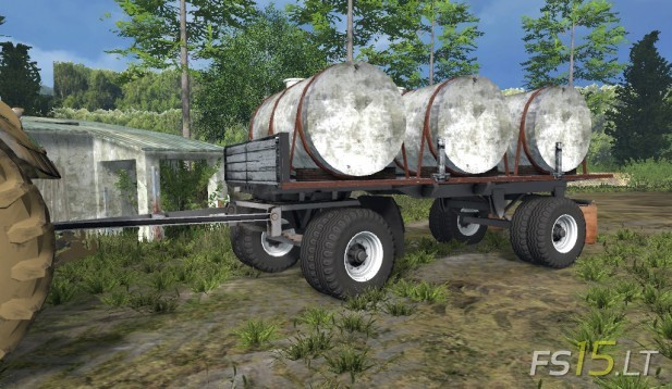 Water Barrel Trailer 9
