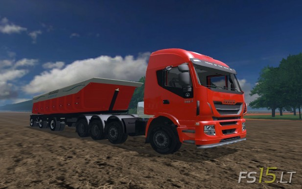 Iveco-Stralis-Hi-Way-560-8x4+Trailer