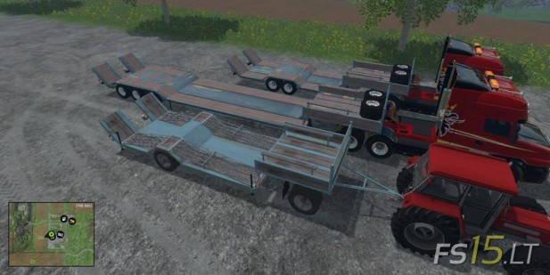 Low-Loader-Transporter-Trailers-Pack-v-1.0