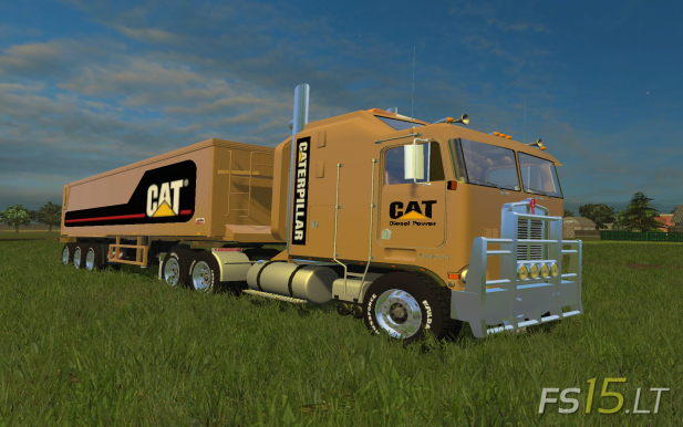 CAT-Kenworth-K-100+Trailers