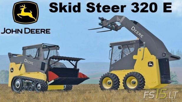 John Deere Skidsteer 320e Loader Pack Fs15 Mods Fs15 Lt