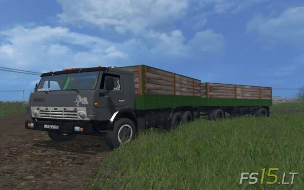 Kamaz-53212+Trailer