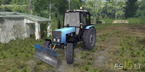 MTZ-1025-Belarus-FL+Bulldozer-1
