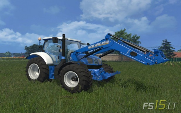 New-Holland-T-6.160+Frontloader
