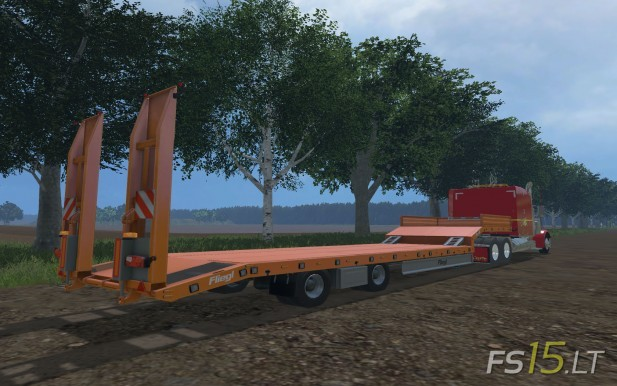 Fliegl-Low-Loader-Trailer
