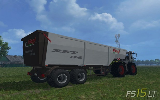 Fliegl-Semi-Trailer