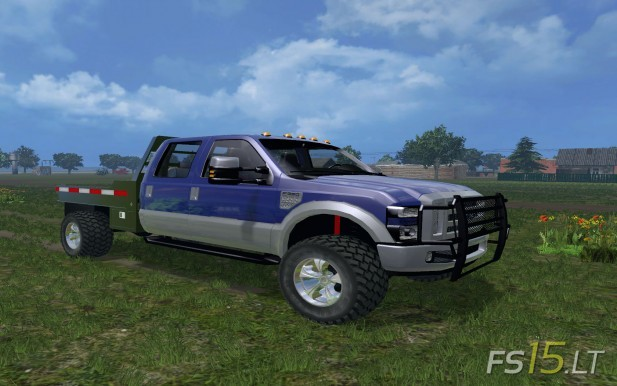 Ford-F-350-Flatbed-1