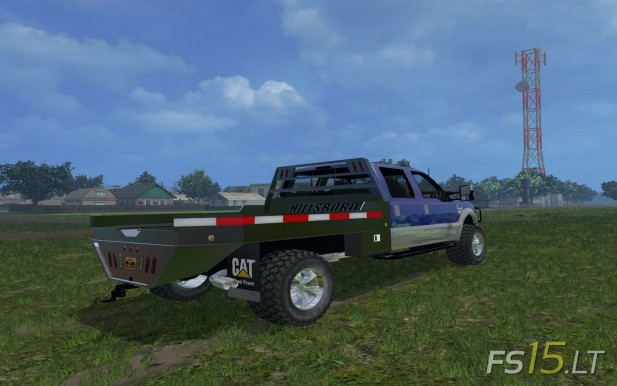 Ford-F-350-Flatbed-2
