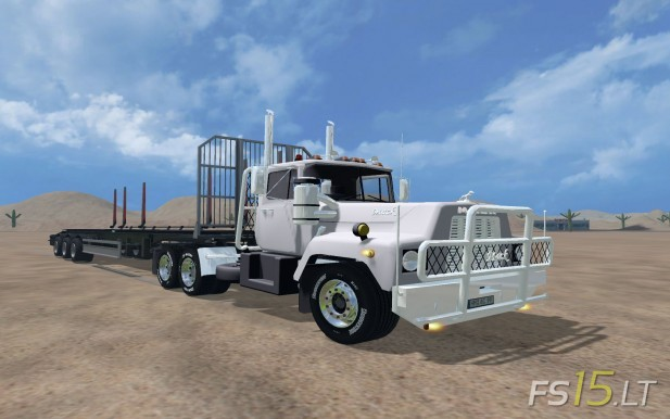 Mack Truck | FS15 mods - FS15 LT