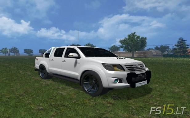 Toyota Hilux City Version Fs15 Mods Fs15 Lt