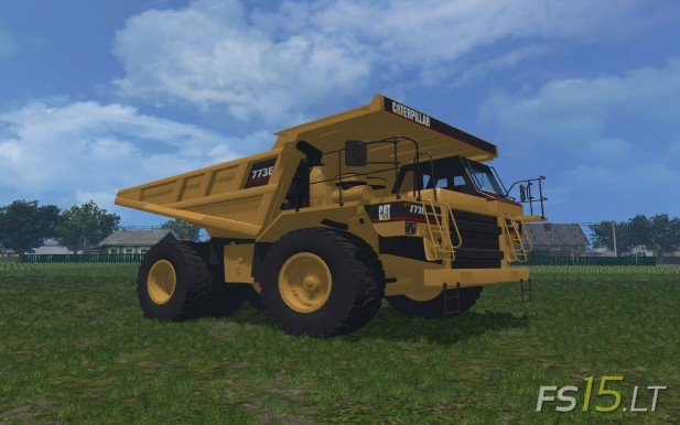 CAT 773F