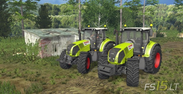 Claas Axion 850-1