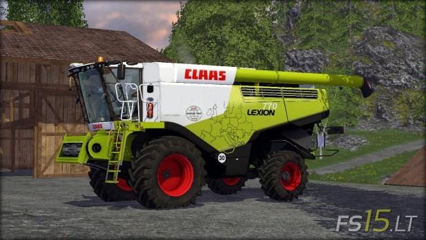 Claas Lexion 770 Pack