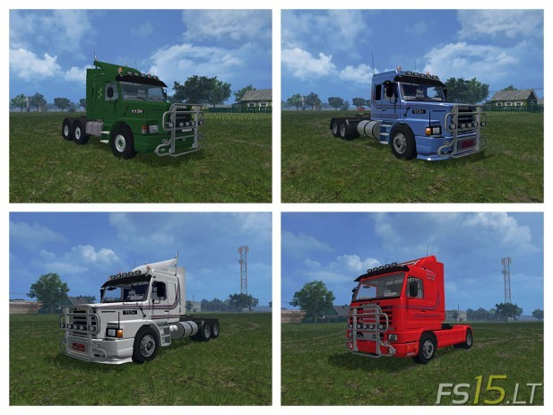 Collection Scania 113 Pack v 1.0