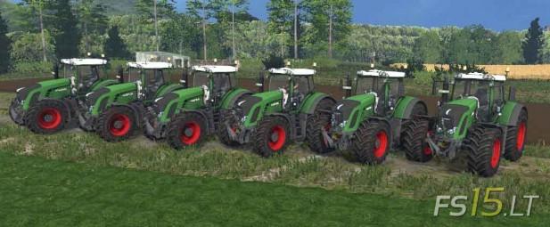 Fendt 900 Series Tractors Pack v 2.0-1