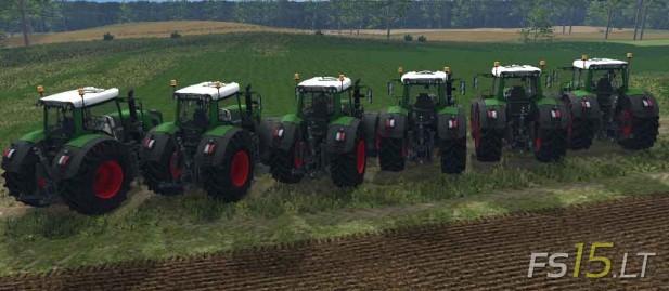 Fendt 900 Series Tractors Pack v 2.0-2