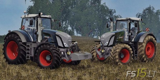 Fendt Vario 828 Black Beauty Series Pack