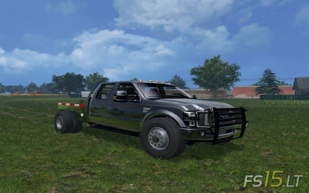 Ford F-350 Flatbed-1