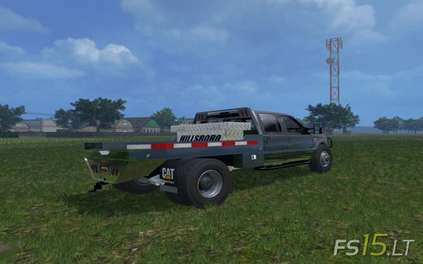 Ford F-350 Flatbed-2