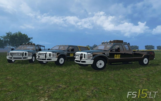 Ford F350 Caterpillar-1