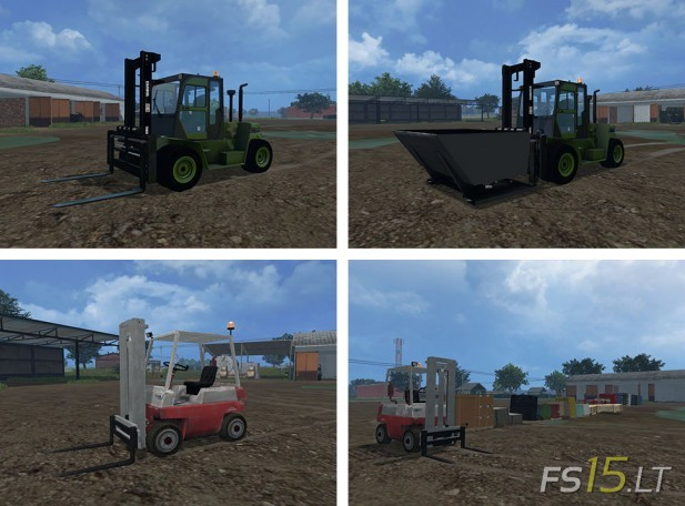 Forklifts Mods Pack v 1.0 by vydka-2