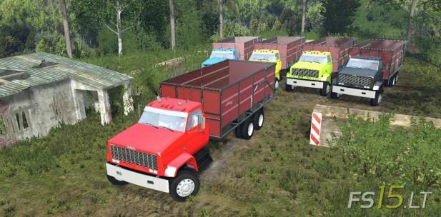 GMC Dump Truck Multicolor-1