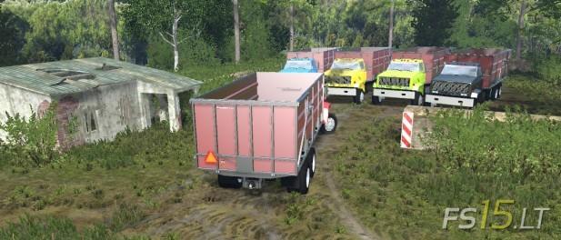 GMC Dump Truck Multicolor-2