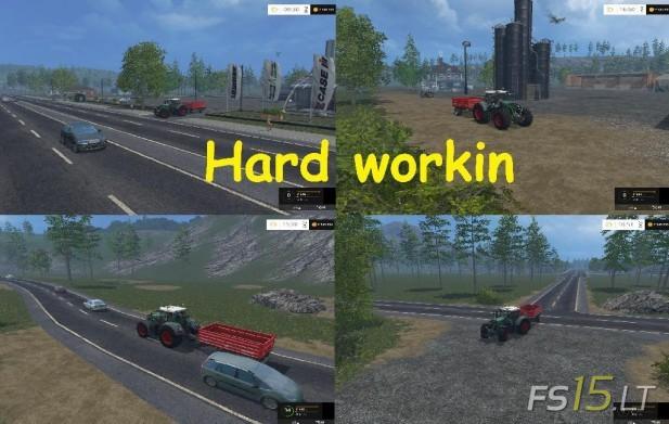 Hard Workin Map