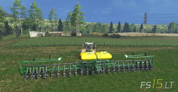 John Deere 318 >> John Deere 24 Row Air Planter | FS15 mods - FS15.LT