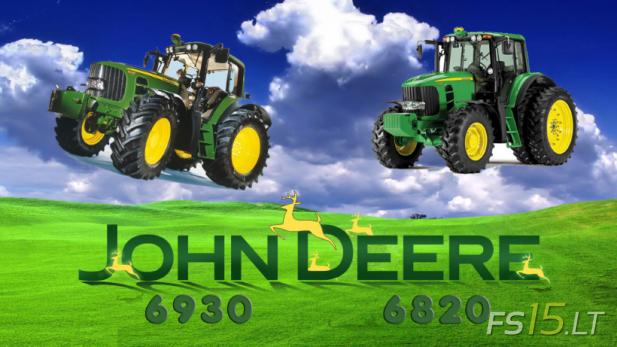 John Deere 6820, 6930 Pack-1