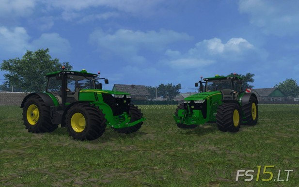 John Deere 7290 R and 8370 R Pack