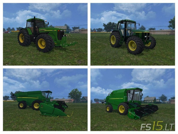 John Deere Mods Pack v 2.0 by vydka-1