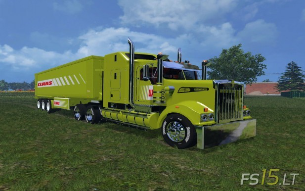 Kenworth + Trailer Claas Edition