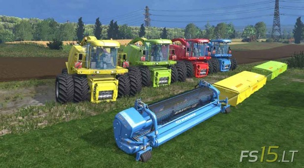 Krone Big Xtreme HDR Dyeable Pack v 1.3 Multicolor-1