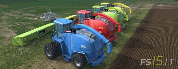 Krone Big Xtreme HDR Dyeable Pack v 1.3 Multicolor-2