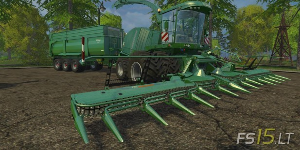 Krone Big Xtreme HDR Dyeable Pack v 1.4 Multicolor